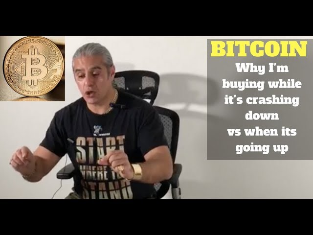 Bitcoin: Why I'm buying while it's Crashing Down vs. when it's Going Up.