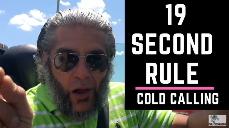 "COLD CALLING: ""19-Second-Rule"" turns Leads into CASH!"