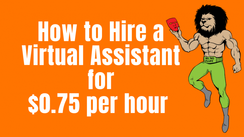 How to Hire a Virtual Assistant for $0 75 per hour - How to