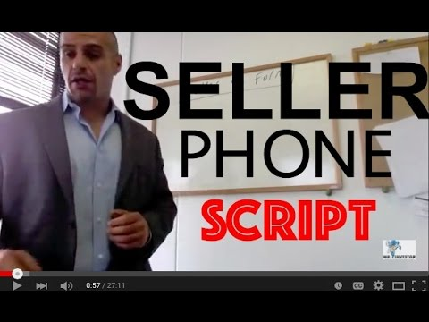 How to talk to motivated sellers over the Phone in Real Estate, Ninja Phone Script