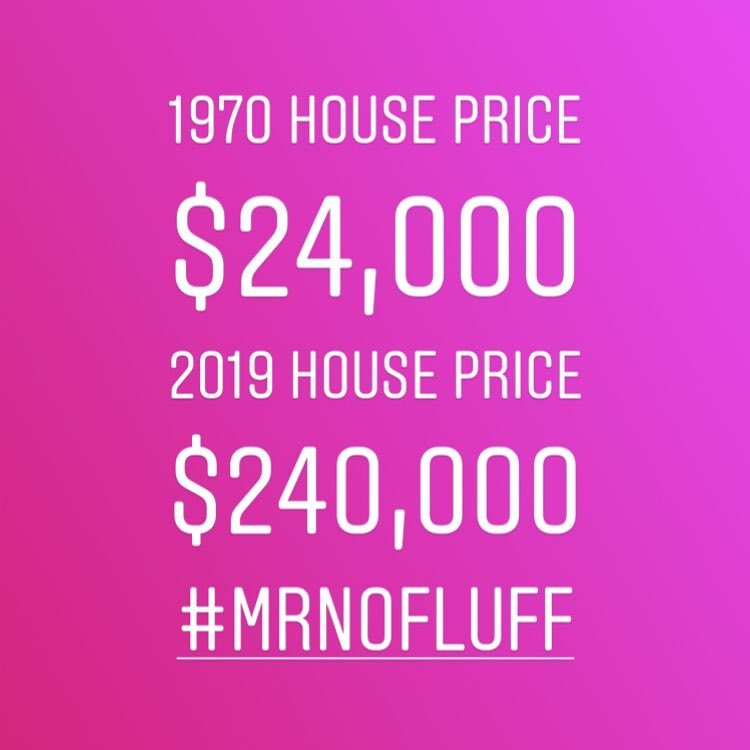 A house in the 70's was $24,000, that same house today goes for $240,000.00 (here's why)