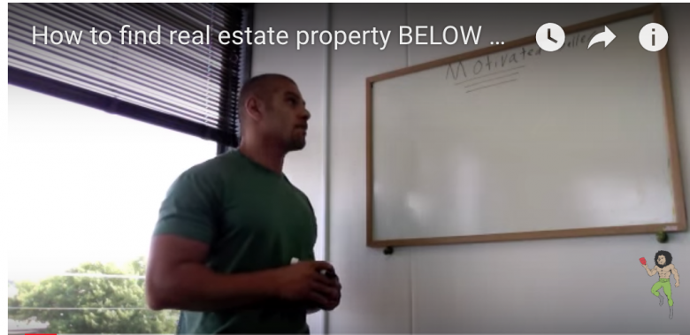 How to find real estate property BELOW MARKET PRICE