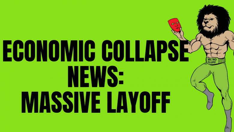 Economic Collapse News: Massive Layoff, Massive Auto Defaults, Bitcoin and Gold Party
