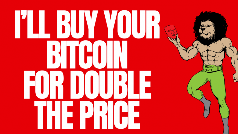 I'll Buy Your Bitcoin for Double The Price The Exchanges Will Pay You in 2018 Crypto Crash
